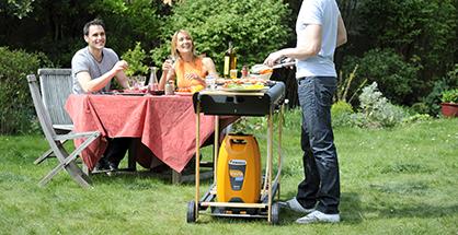 Bouteille shesha pratique pour les barbecues