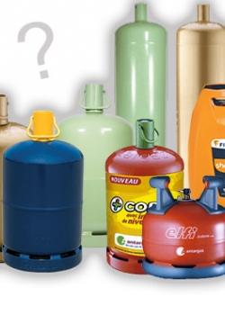 Comment choisir sa bouteille de gaz ?