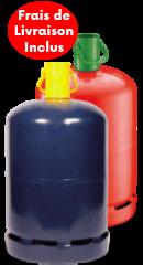 Bouteille Butane 13kg Rouge ou Bleue